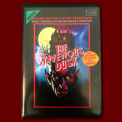 "Apparition - The Ravenous Dusk Limited Edition ""VHS"" style Tape - PreOrder"