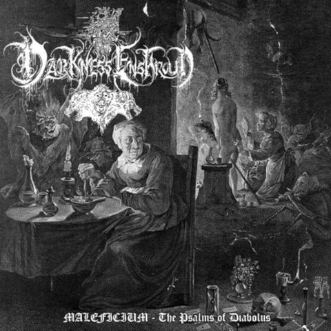 Darkness Enshroud - MALEFICARUM The Psalms of Diabolus CD