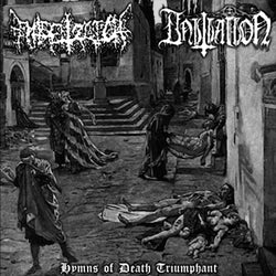 Entsetzlich / Initiation ‎– Hymns Of Death Triumphant Split CD
