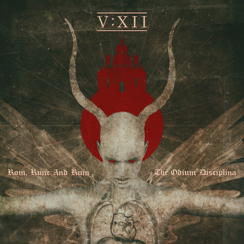 V:XII ‎– Rom, Rune And Ruin - The Odium Disciplina CD