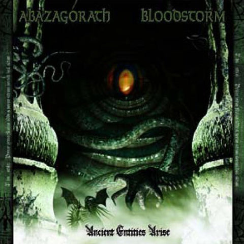 Abazagorath / Blood Storm ‎– Ancient Entities Arise CD