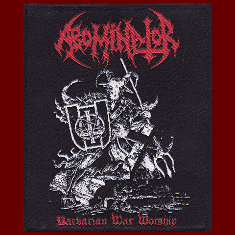 Abominator - Barbarian War Worship Patch