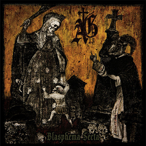 Abysmal Grief ‎– Blasphema Secta CD
