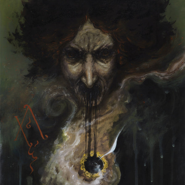 Akhlys ‎– The Dreaming I 2LP (Moss green & bone merge with yellow / black splatter & laser etching)
