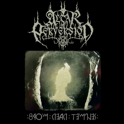 Altar Of Perversion ‎– From Dead Temples (Towards The Ast'ral Path) LP + 7""