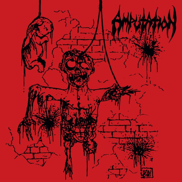 Amputation  ‎– Slaughtered In The Arms Of God LP
