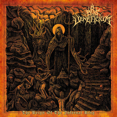 Ars Veneficium ‎– The Reign Of The Infernal King CD