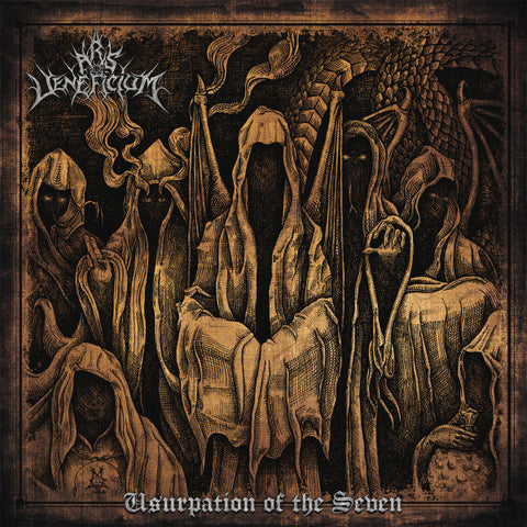 Ars Veneficium ‎– Usurpation Of The Seven CD