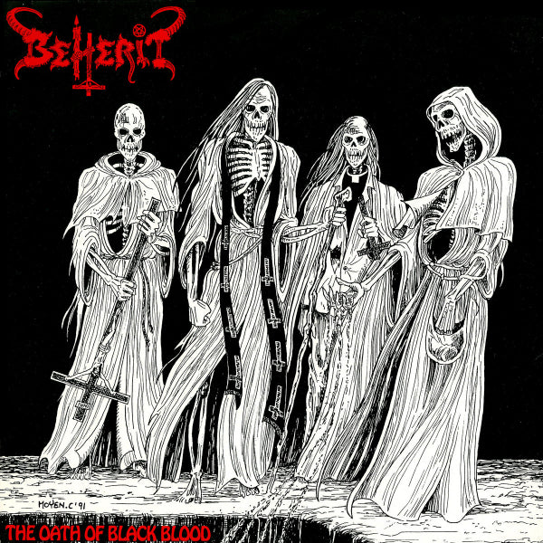 Beherit ‎– The Oath Of Black Blood LP (44 page book special edition)