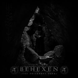 Behexen ‎– The Poisonous Path 2LP (Silver, White & Black Tri-Colour Splatter Vinyl)