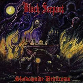 Black Serpent ‎– Shadowside Devilcosm CD