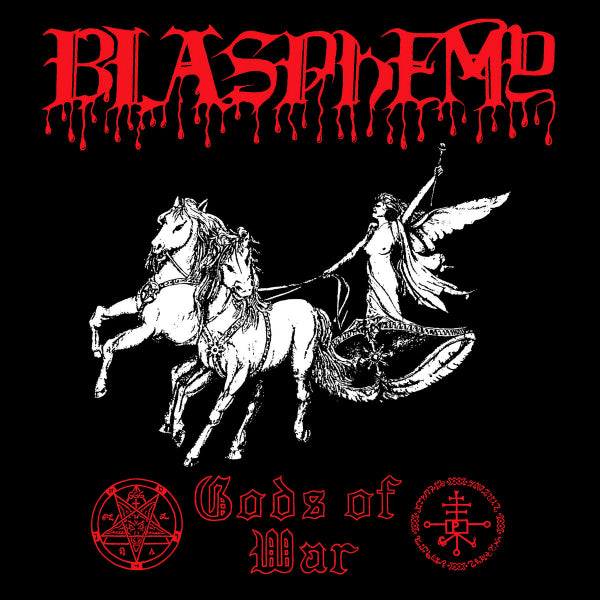 Blasphemy  ‎– Gods Of War LP (Die Hard Red Vinyl)