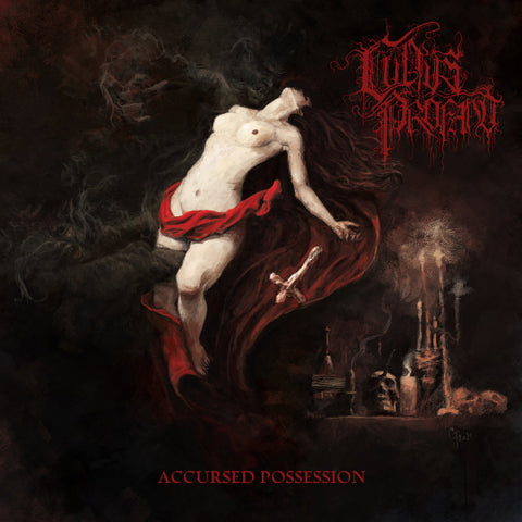 Cultus Profano ‎– Accursed Possession LP (Crimson Red Vinyl)