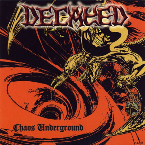 Decayed - Chaos Underground CD