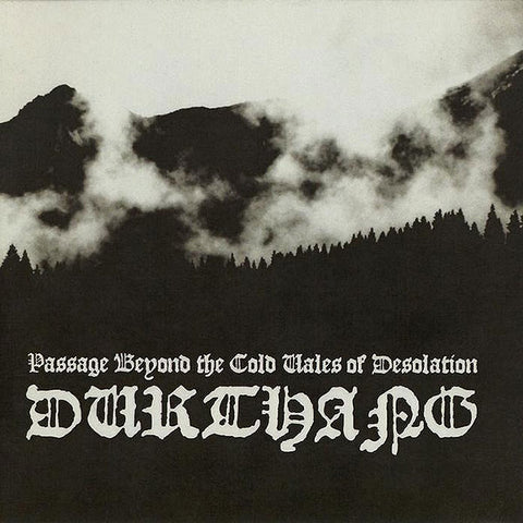 Durthang ‎– Passage Beyond The Cold Vales Of Desolation CD
