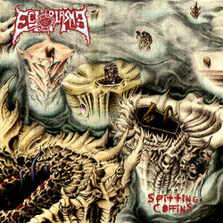 Ectoplasma  ‎– Spitting Coffins CD