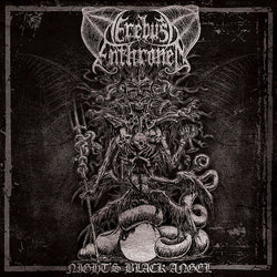 Erebus Enthroned - Night's Black Angel CD