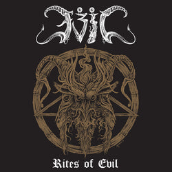 Evil  ‎– Rites Of Evil LP