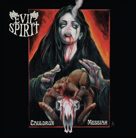 Evil Spirit ‎– Cauldron Messiah CD