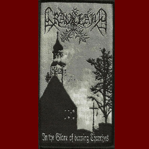 Graveland - In the Glare of Burning Churches Patch