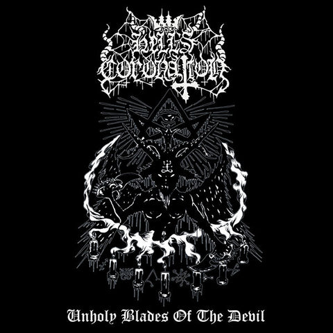 Hell's Coronation ‎– Unholy Blades Of The Devil CD