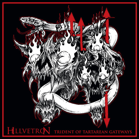 Hellvetron - Trident of Tartarean Gateways CD