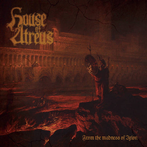 House Of Atreus  ‎– From The Madness Of Ixion CD