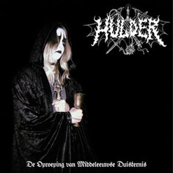 Hulder ‎– De Oproeping Van Middeleeuwse Duisternis LP (Ultra Clear with Black Splatter Vinyl)