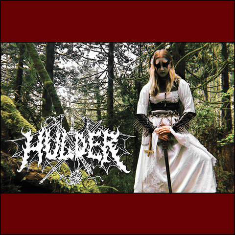 Hulder ‎– Embraced By Darkness Mysts... Tape