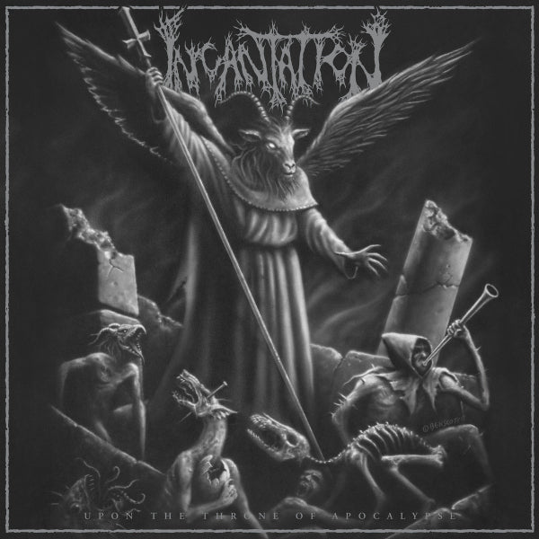 Incantation ‎– Upon The Throne Of Apocalypse CD