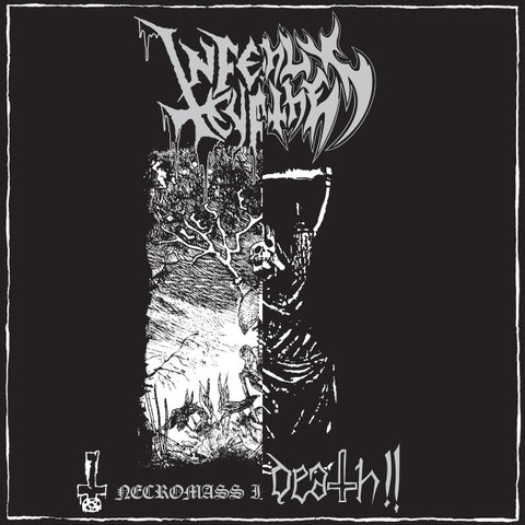 Infernal Curse, Deathly Scythe ‎– Necromass Incantations/ Will Of Death!! Split LP