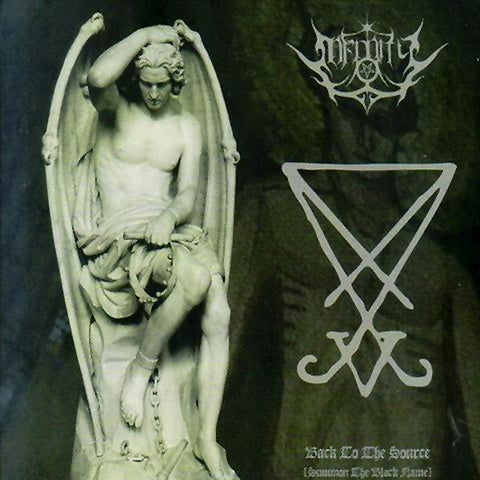 Infinity - Back to the Source (Summon the Black Flame) CD