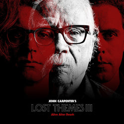John Carpenter ‎– Lost Themes III: Alive After Death LP (Transparent Red Vinyl)
