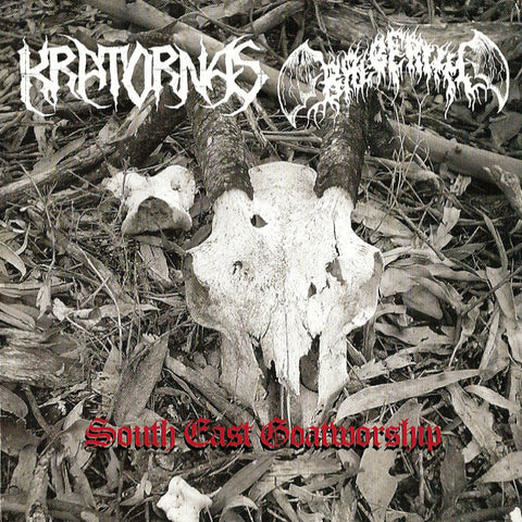 Kratornas / Balberith ‎– South East Goatworship CD