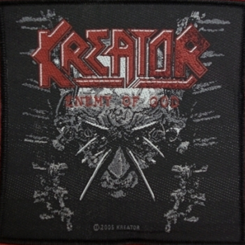 Kreator - Enemy Of God Patch