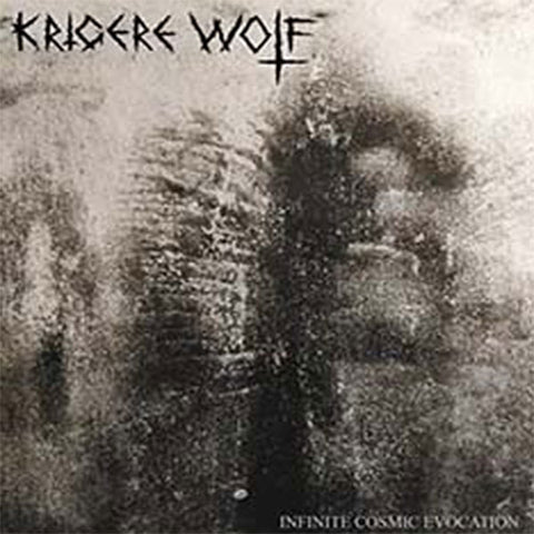 Krigere Wolf ‎– Infinite Cosmic Evocation CD