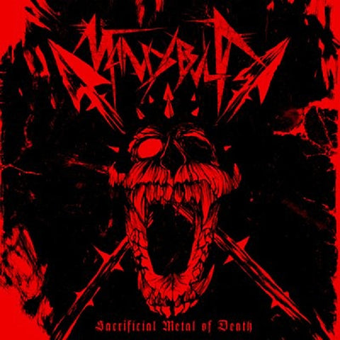 Mandibula - Sacrificial Metal of Death CD