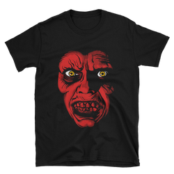 Captain Howdy Red Design T-shirt