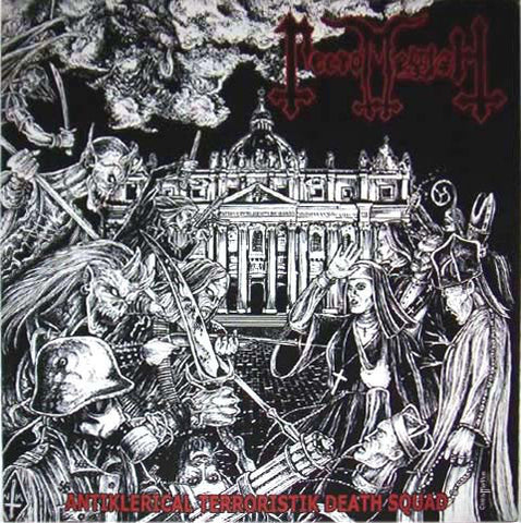 Necromessiah ‎– Antiklerical Terroristik Death Squad CD