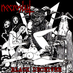 Necroslut ‎– Black Deceiver CD