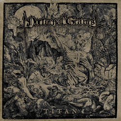 Nocturnal Graves ‎– Titan LP (Gold & Black Marbled Vinyl)