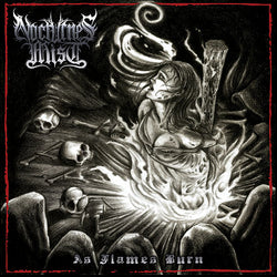 Nocturnes Mist - 'As Flames Burn' CD