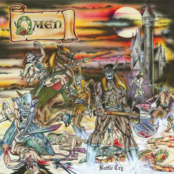 Omen ‎– Battle Cry LP (Bone Coloured Vinyl)