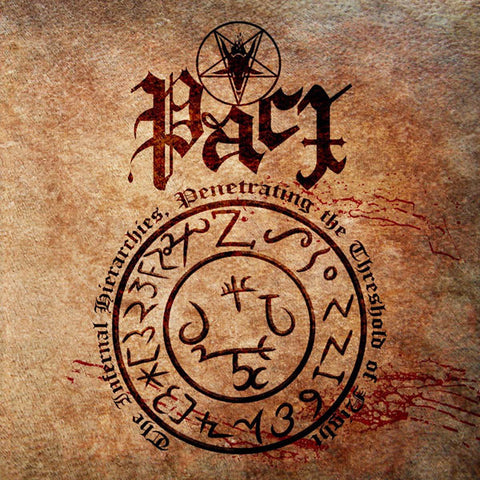 Pact - The Infernal Hierarchies, Penetrating the Threshold of Night CD