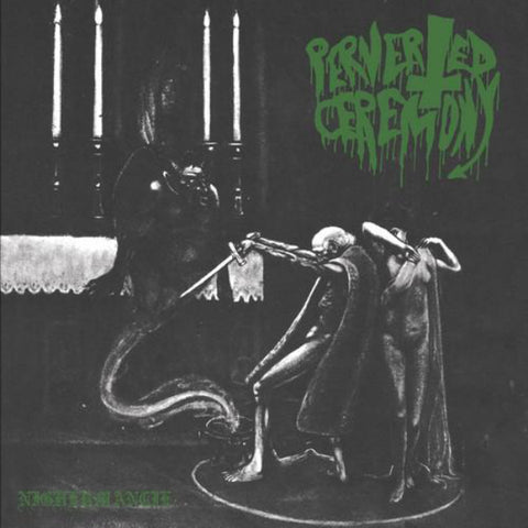 Perverted Ceremony / Witchcraft  ‎– Nighermancie / Black Candle LP