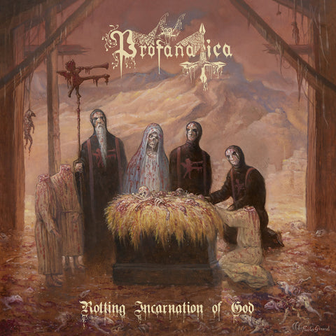 Profanatica ‎– Rotting Incarnation Of God CD