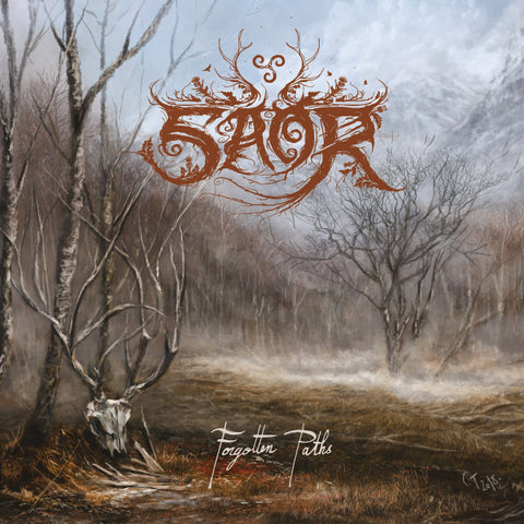 Saor ‎– Forgotten Paths CD