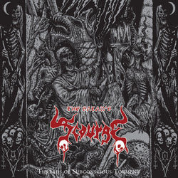 The Satan's Scourge ‎– Threads Of Subconscious Torment CD