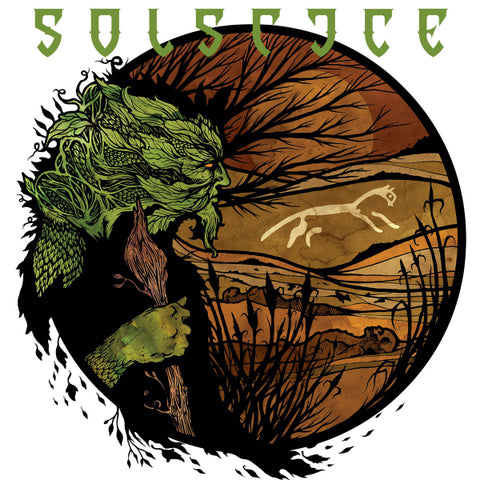 Solstice ‎– White Horse Hill LP