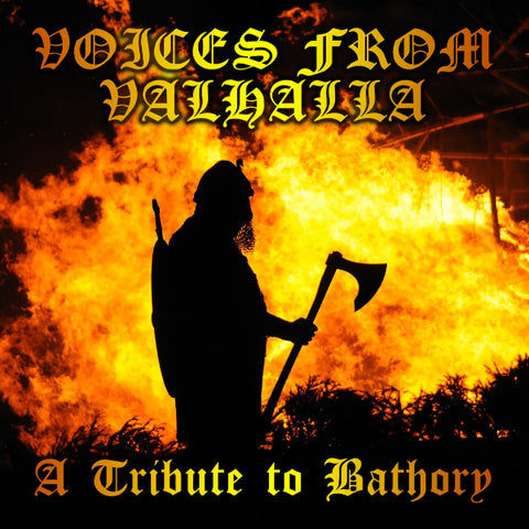 Various ‎– Voices From Valhalla : A Tribute To Bathory 2CD